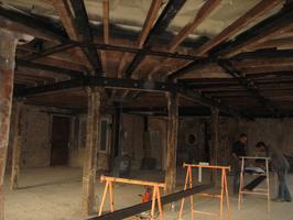 Refuerzo estrucutral en vivienda de estructura de madera